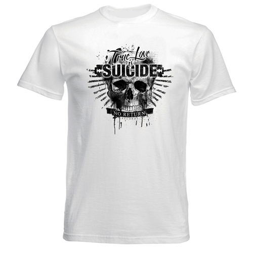 Bild von TRUE LOVE IS SUICIDE - SHIRT